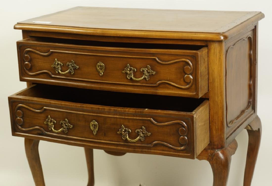 CHIPPENDALE STYLE TWO-DRAWER CHEST - 2