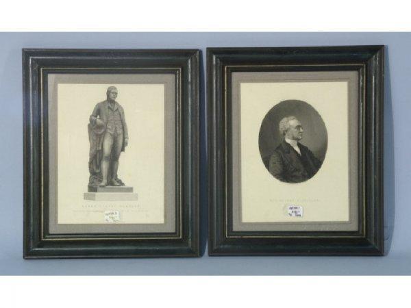 Pair of engravings of gentlemen