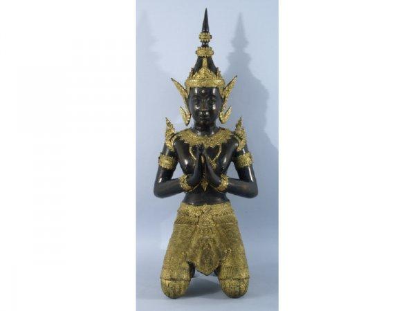 19th C. bronze Bodhisattva from Java