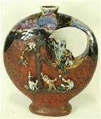 ANTIQUE JAPANESE ARITA WARE VASE