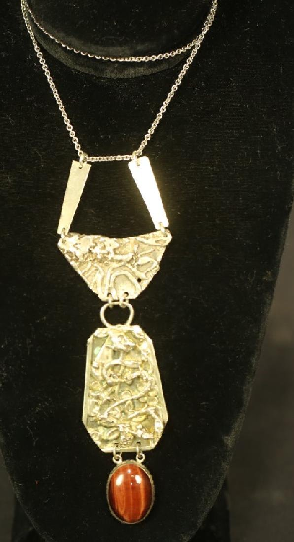 """STERLING SILVER PENDANT ON 20"""" CHAIN"""