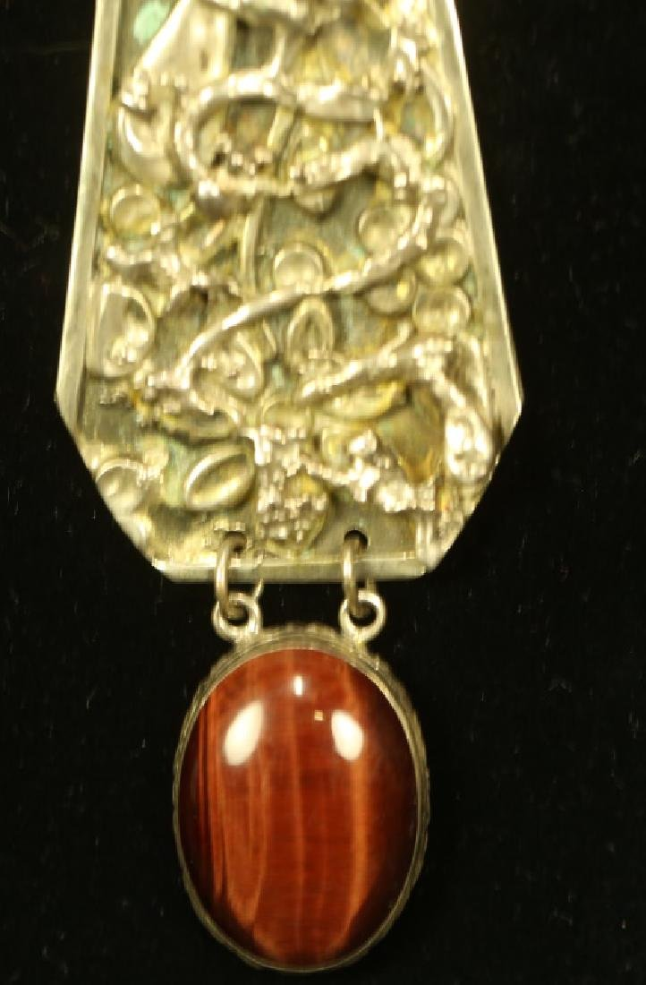 """STERLING SILVER PENDANT ON 20"""" CHAIN - 2"""
