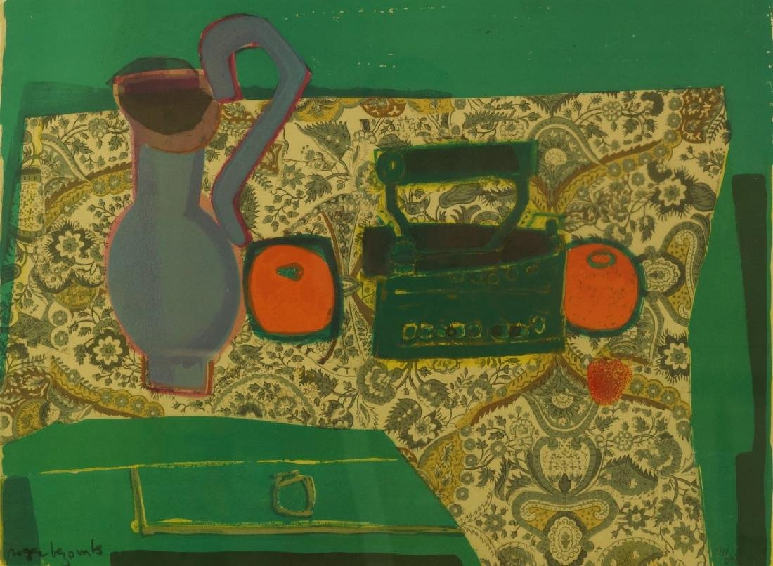 "ROGER BEZOMBES ""STILL LIFE"" LITHOGRAPH"