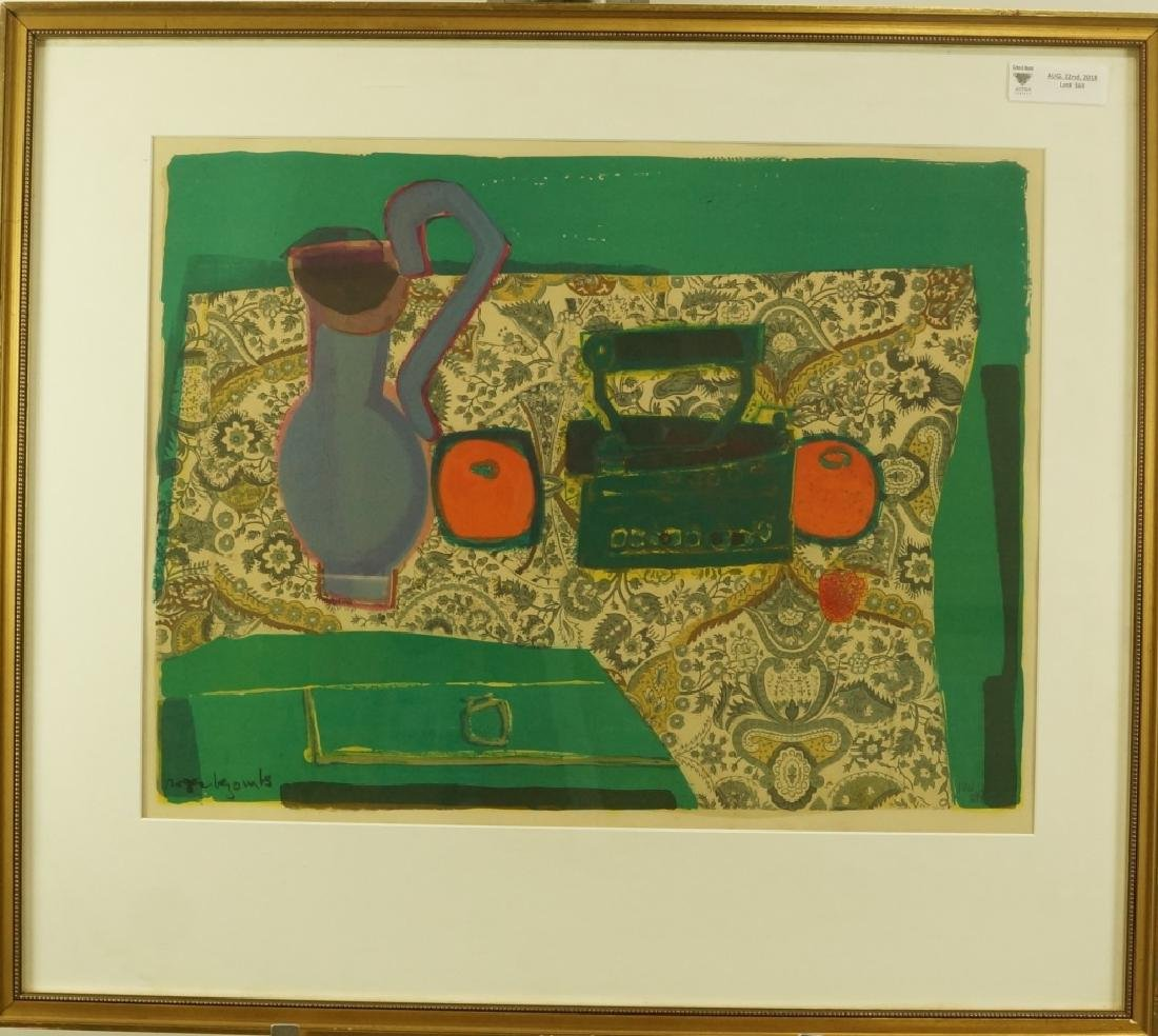 "ROGER BEZOMBES ""STILL LIFE"" LITHOGRAPH - 2"