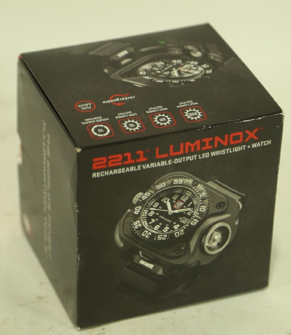 NEW 2211 LUMINOX RECHARGEABLE LASER VARIABLE WATCH - 2