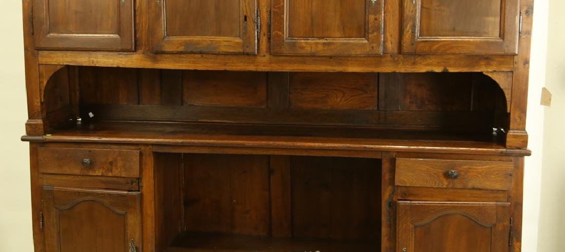 19th CENTURY FRENCH FRUITWOOD HUTCH - 2