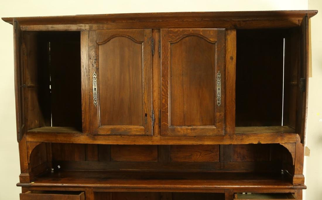 19th CENTURY FRENCH FRUITWOOD HUTCH - 3