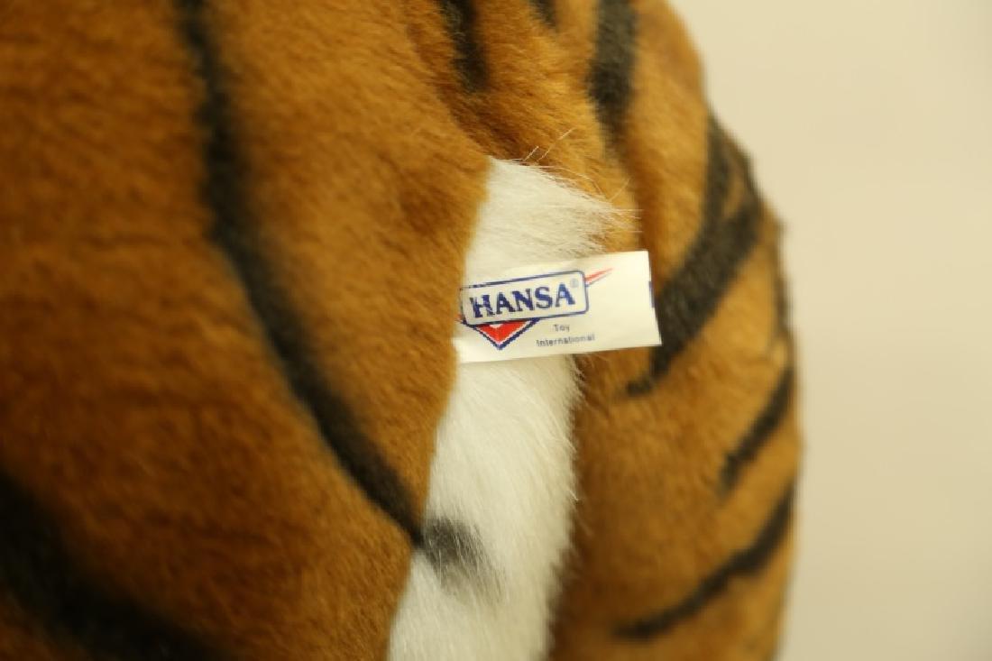 HANSA TOY INTERNATIONAL PLUSH LIFE SIZE TIGER - 3