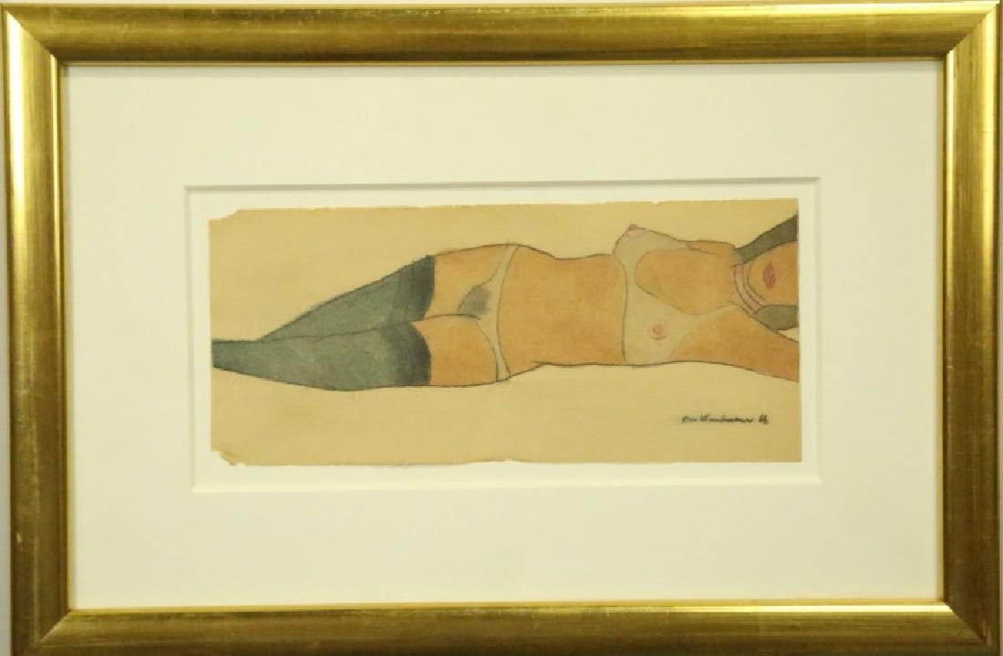 """ATTRIBUTED TO TOM WESSELMANN """"UNKNOWN"""" FEMALE NUDE - 2"""