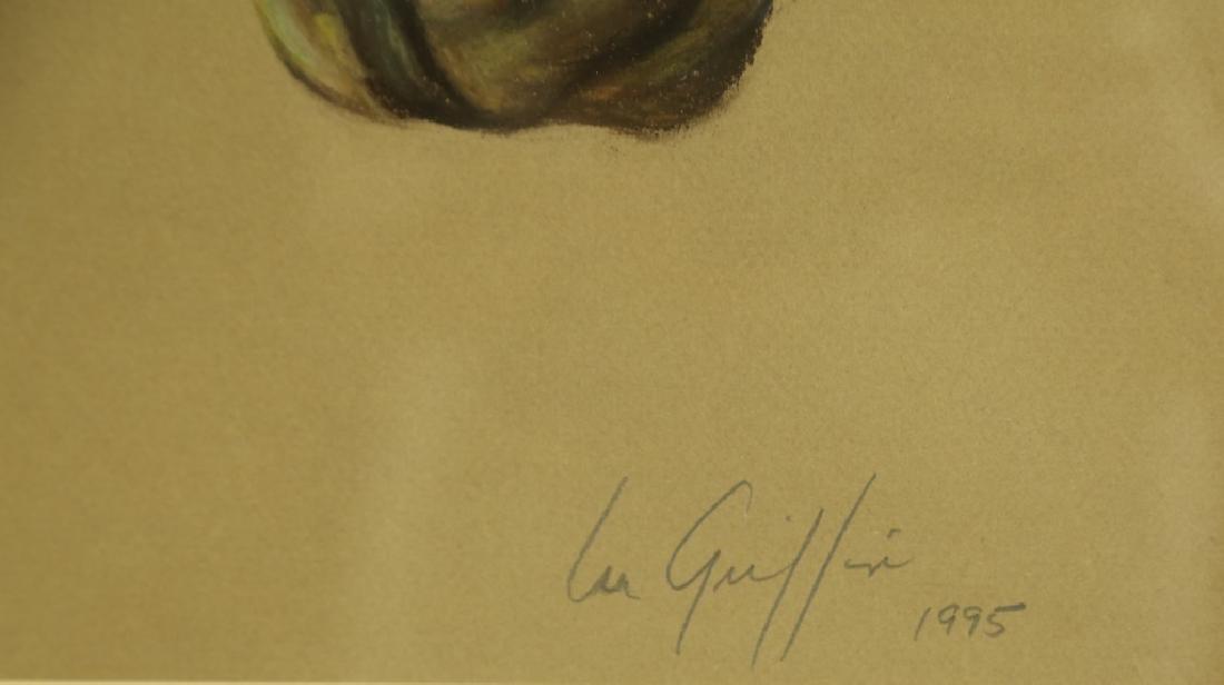 """GRIFFIN """"BAILEY'S BLAZE"""" ORIGINAL WATERCOLOR - 3"""