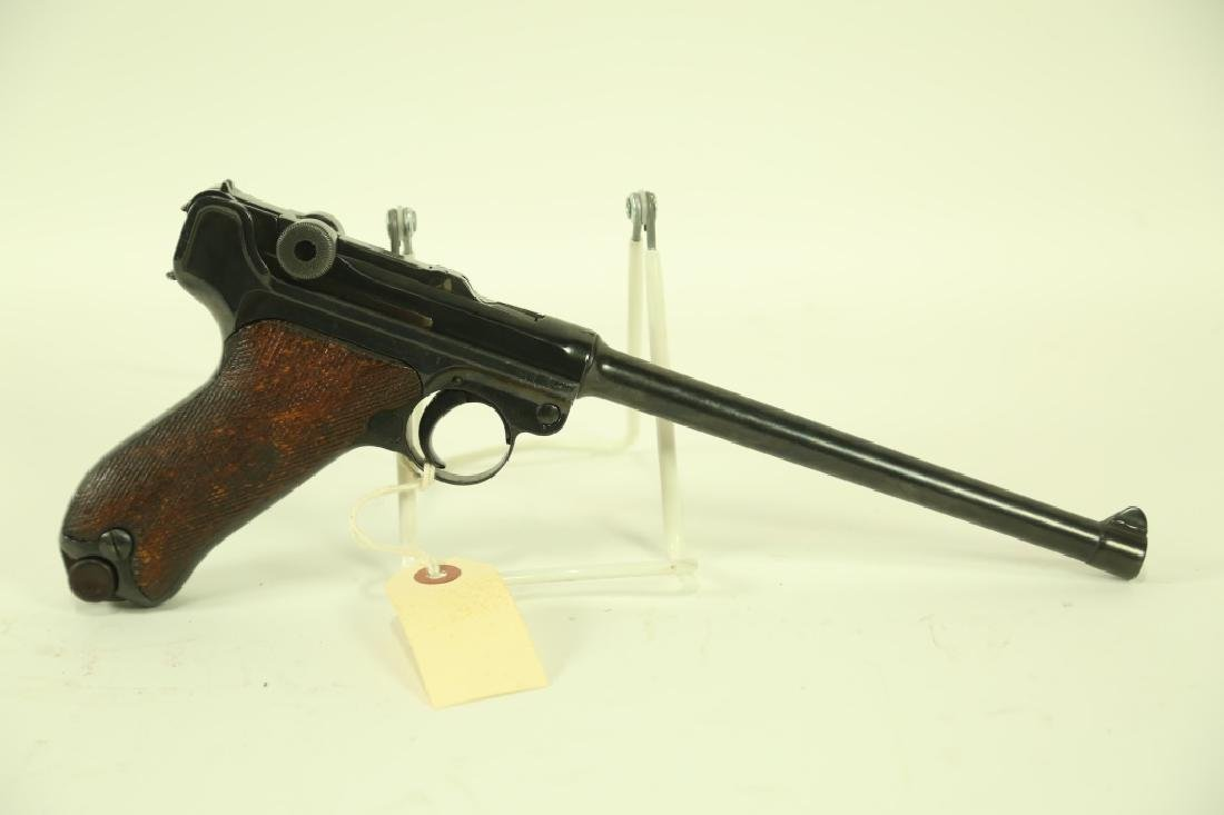 LUGER 1906 9 MM PISTOL. MADE 19028, 1ST MILITARY C - 2