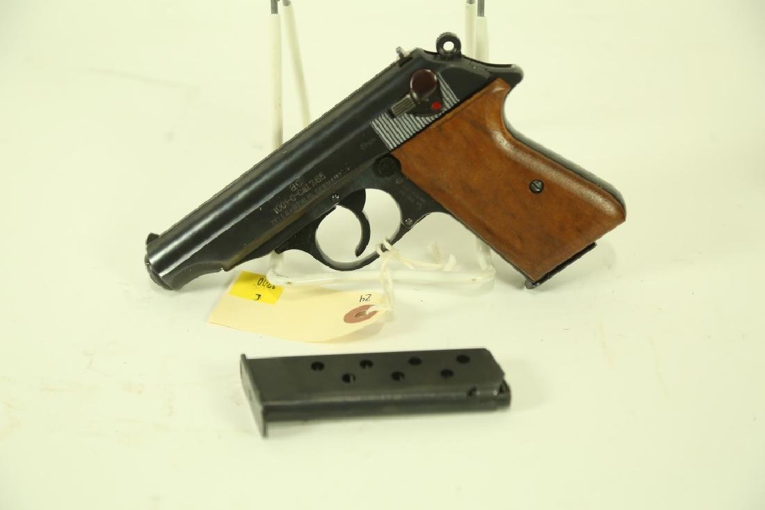 WALTHER PP .32 CALIBER PISTOL. IMMEDIATE POST WWII - 2