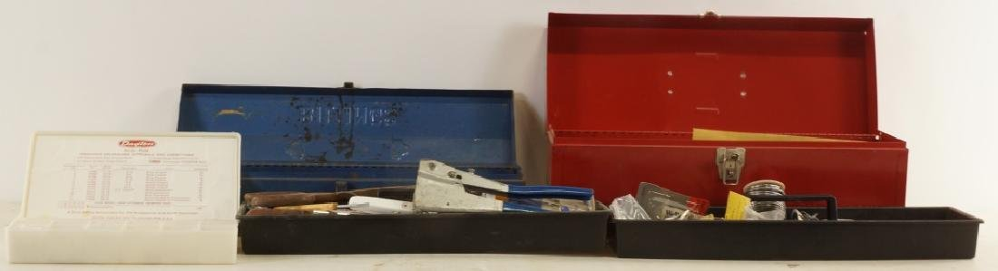 MIXED LOT OF THREE TOOL BOXES