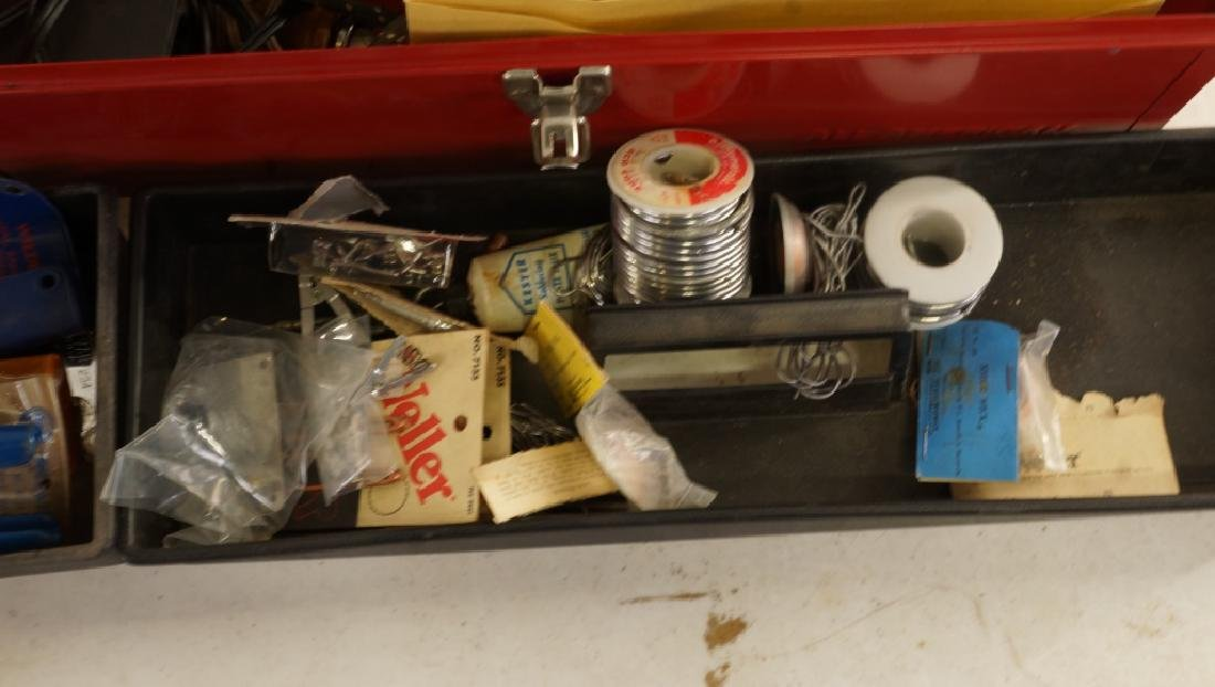 MIXED LOT OF THREE TOOL BOXES - 7
