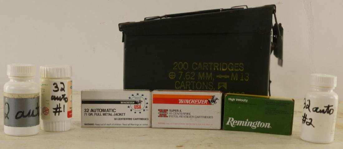 32 AUTOMATIC AMMO BOX LOT - 2