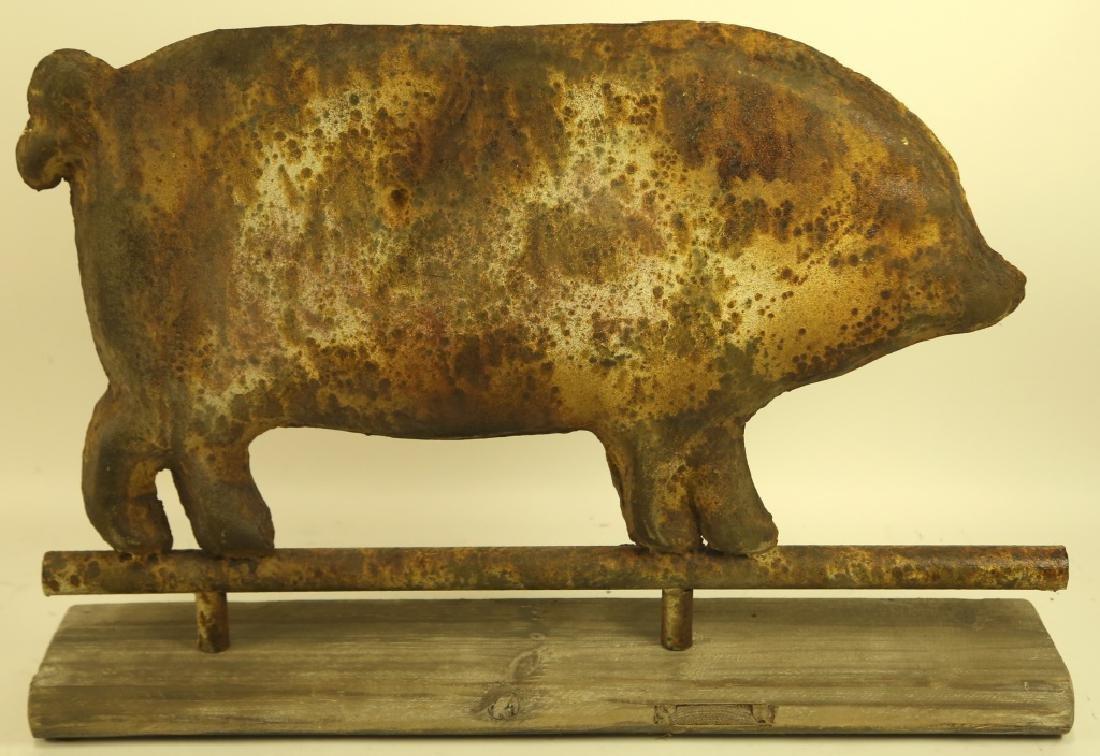 TIN PIG CUTOUT