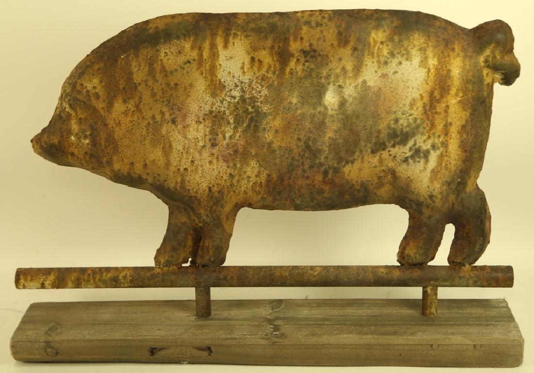 TIN PIG CUTOUT - 2
