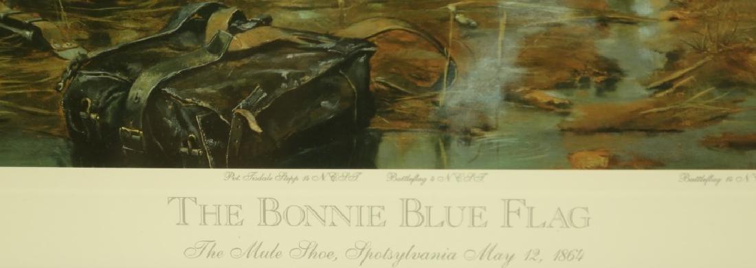 """""""THE BONNIE BLUE FLAG"""" PRINT - 3"""