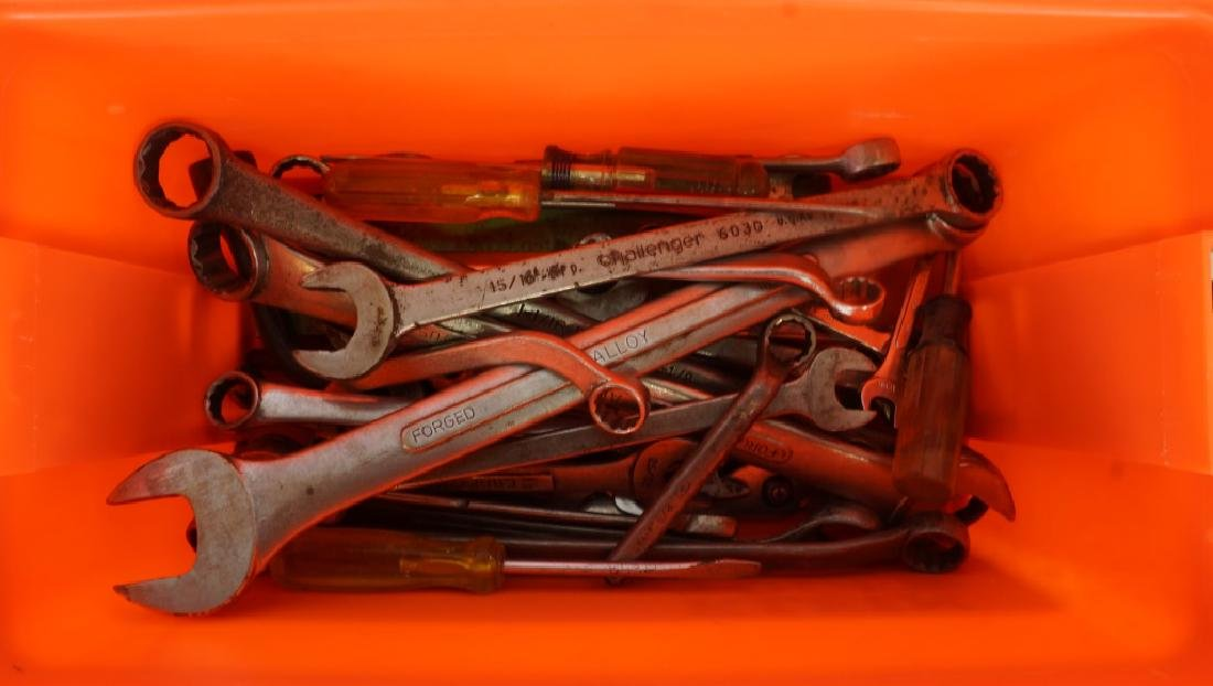 TOOL BOX  WITH TOOLS LOT - 3