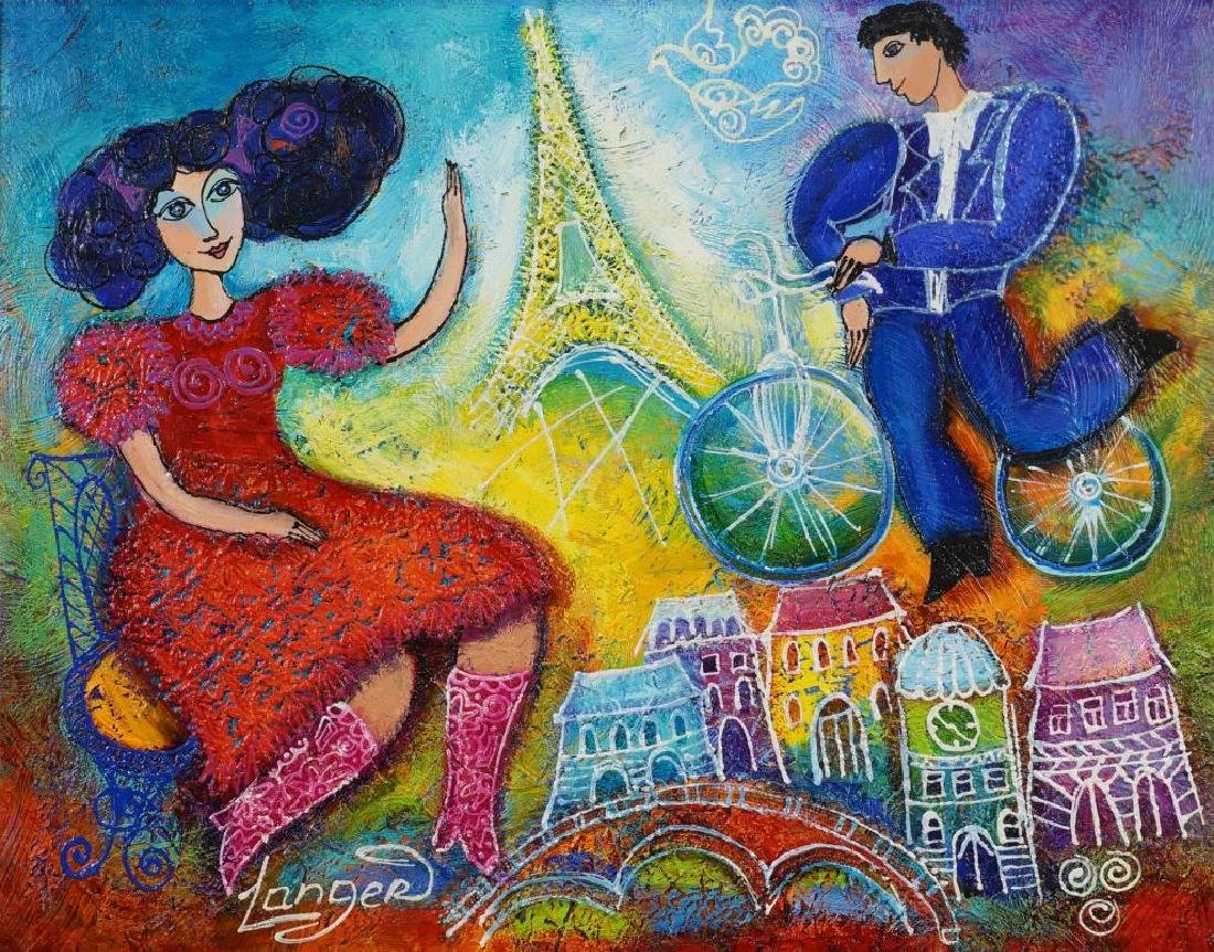 "YULIA LANGER ""TOGETHER IN PARIS"""