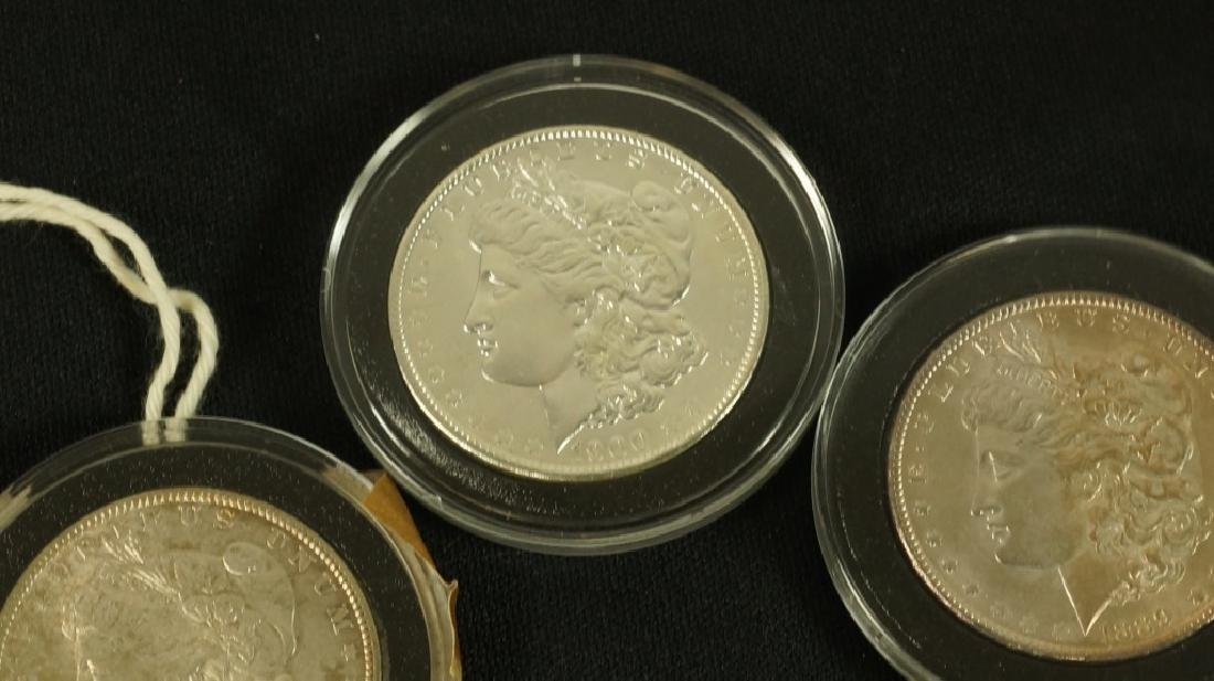 LOT OF FIVE NEAR MINT 19TH CENTURY LIBERTY COINS - 5