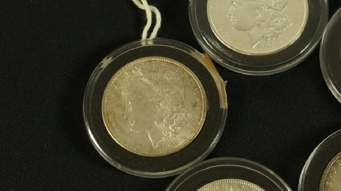 LOT OF FIVE NEAR MINT 19TH CENTURY LIBERTY COINS - 6