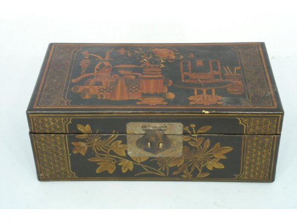 1003: Chinese painted box