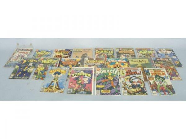 1005: Lot of 20 vintage comic books
