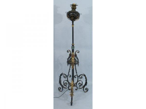 1009: Converted lantern lamp made of metal