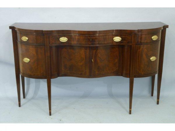 1055: Baker mahogany sideboard