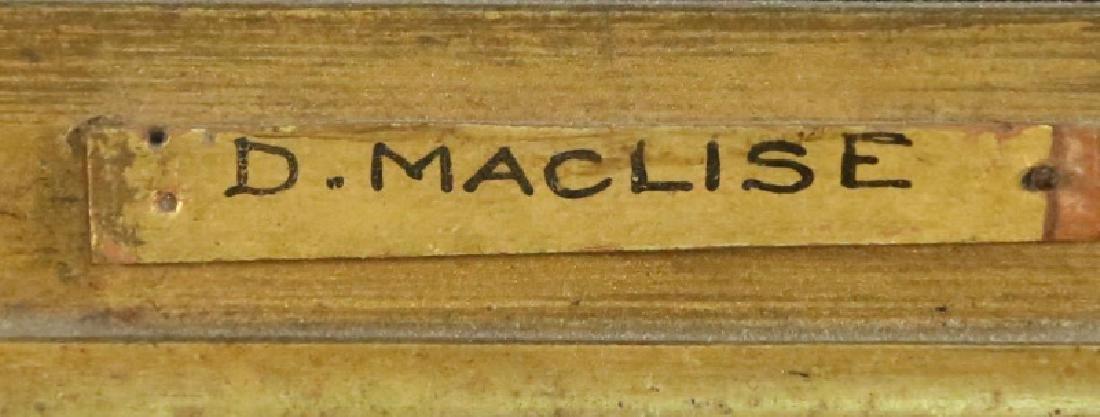 "DANIEL MACLISE ""19th CENTURY JUDGEMENT"" OIL - 3"