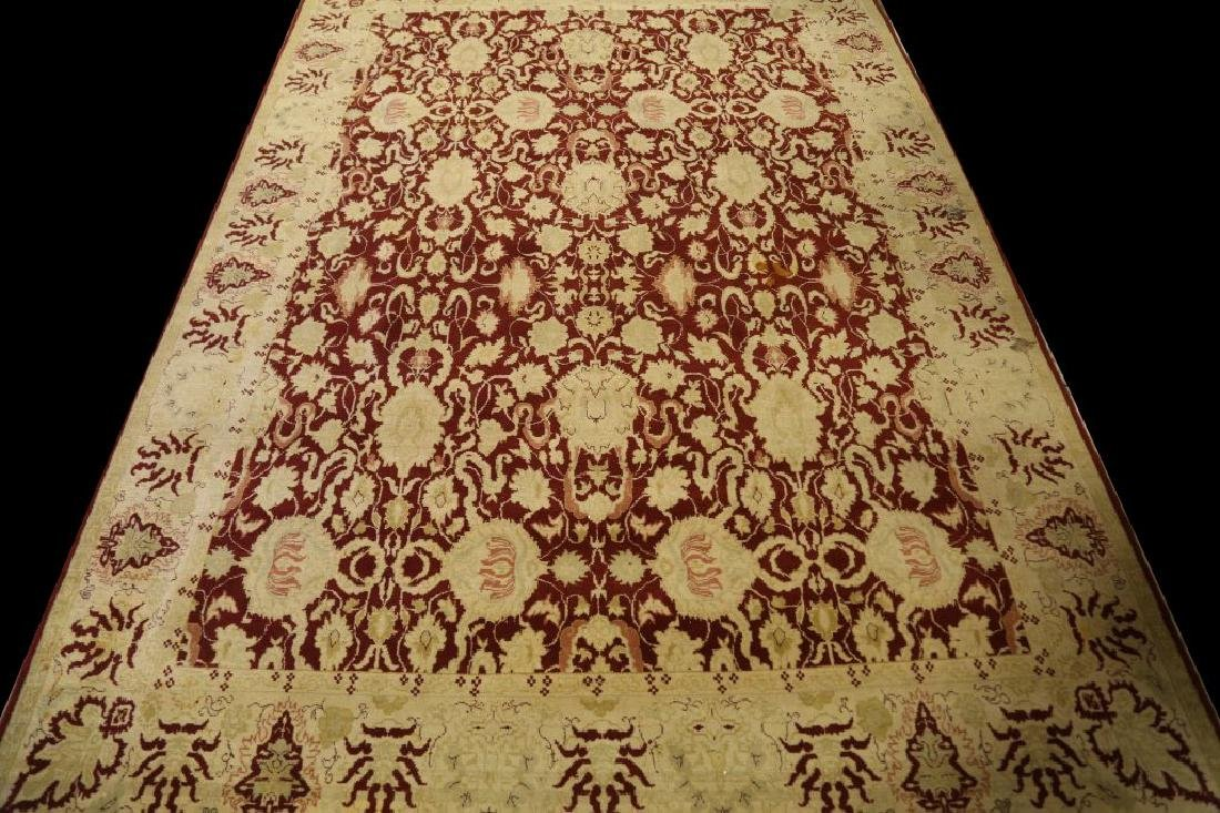MONUMENTAL HAND KNOTTED MAHAL RUG