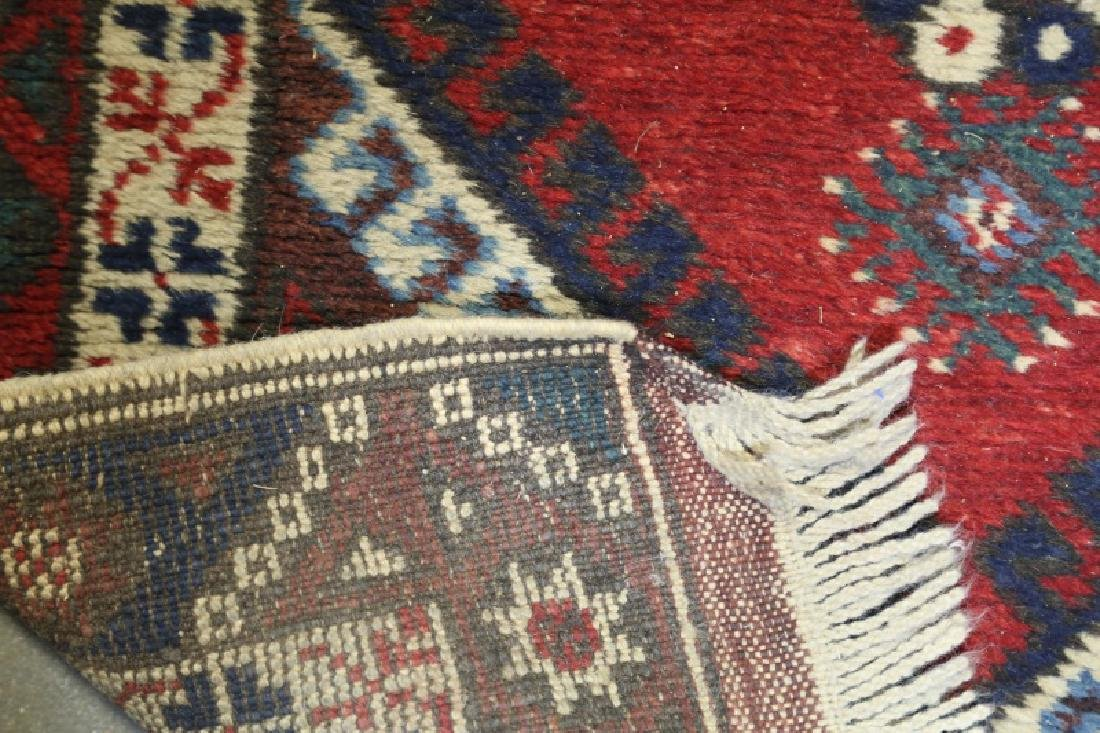 SEMI-ANTIQUE HAND KNOTTED PERSIAN RUNNER - 3