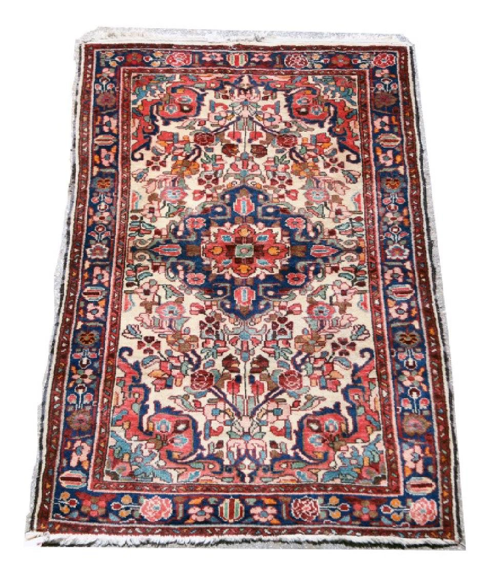 ANTIQUE PERSIAN BORCHELO RUG