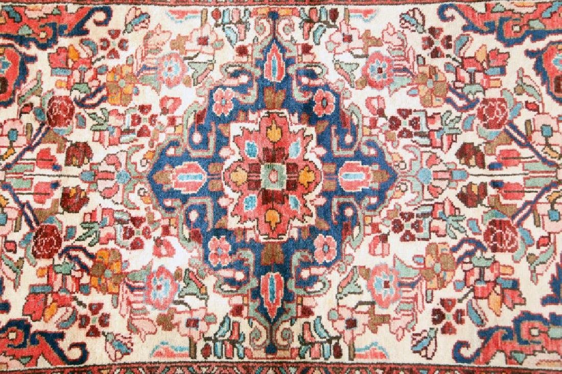 ANTIQUE PERSIAN BORCHELO RUG - 2