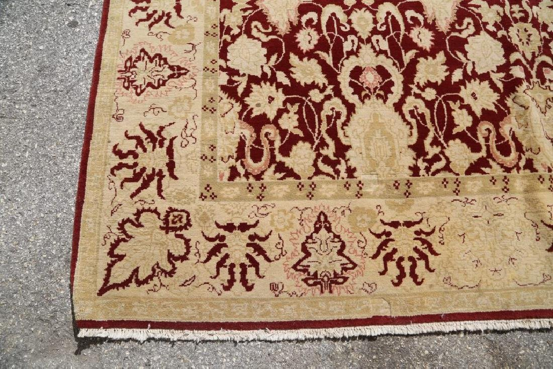 HAND KNOTTED PERSIAN MASHAD RUG - 4
