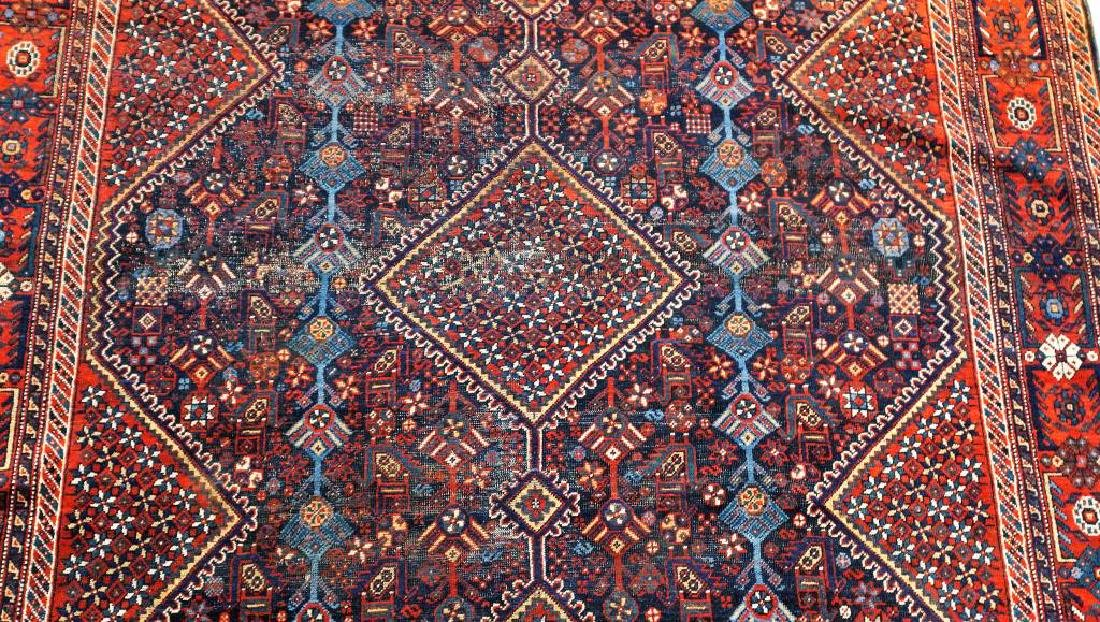 ANTIQUE HAND KNOTTED BALUCH RUG - 3