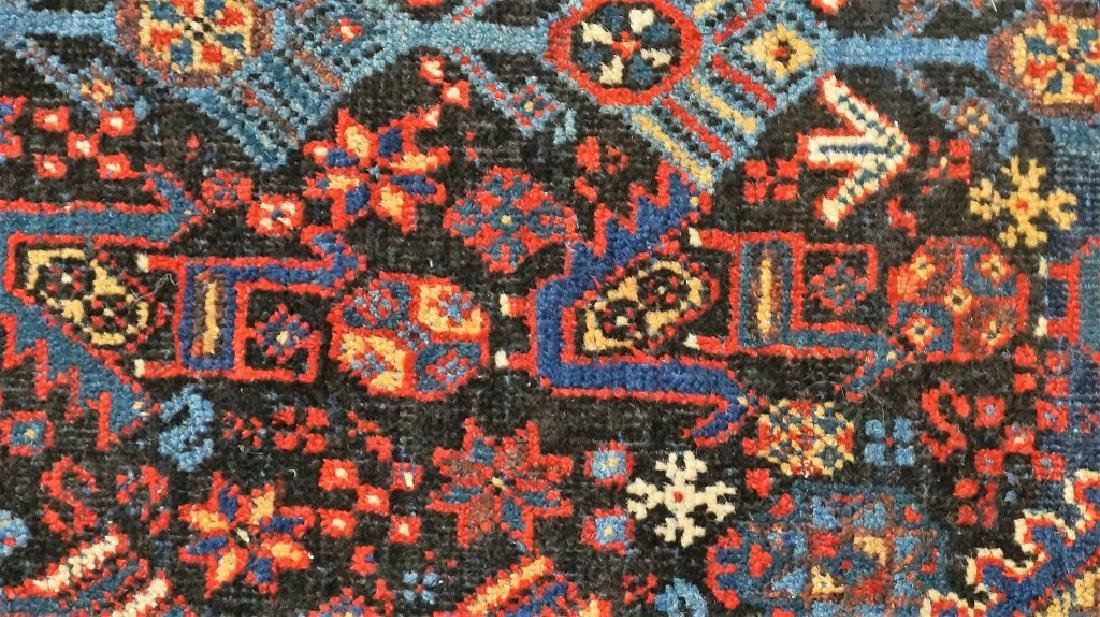 ANTIQUE HAND KNOTTED BALUCH RUG - 5