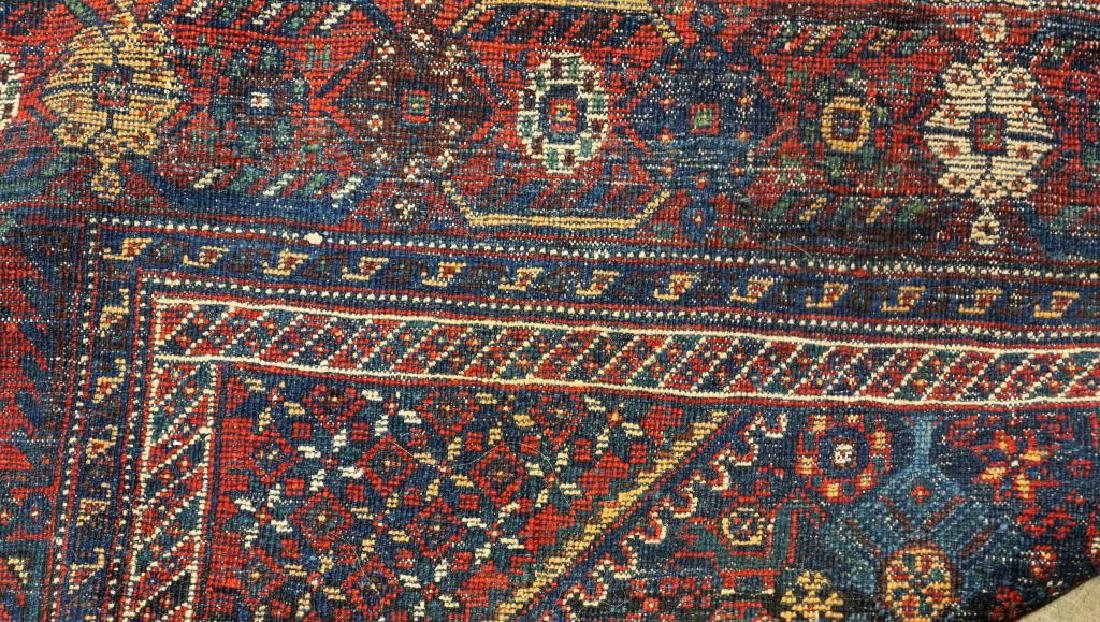 ANTIQUE HAND KNOTTED BALUCH RUG - 6
