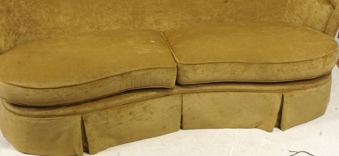 1940's STYLE CAMEL BACK SOFA BY CENTURY FURNITURE - 2