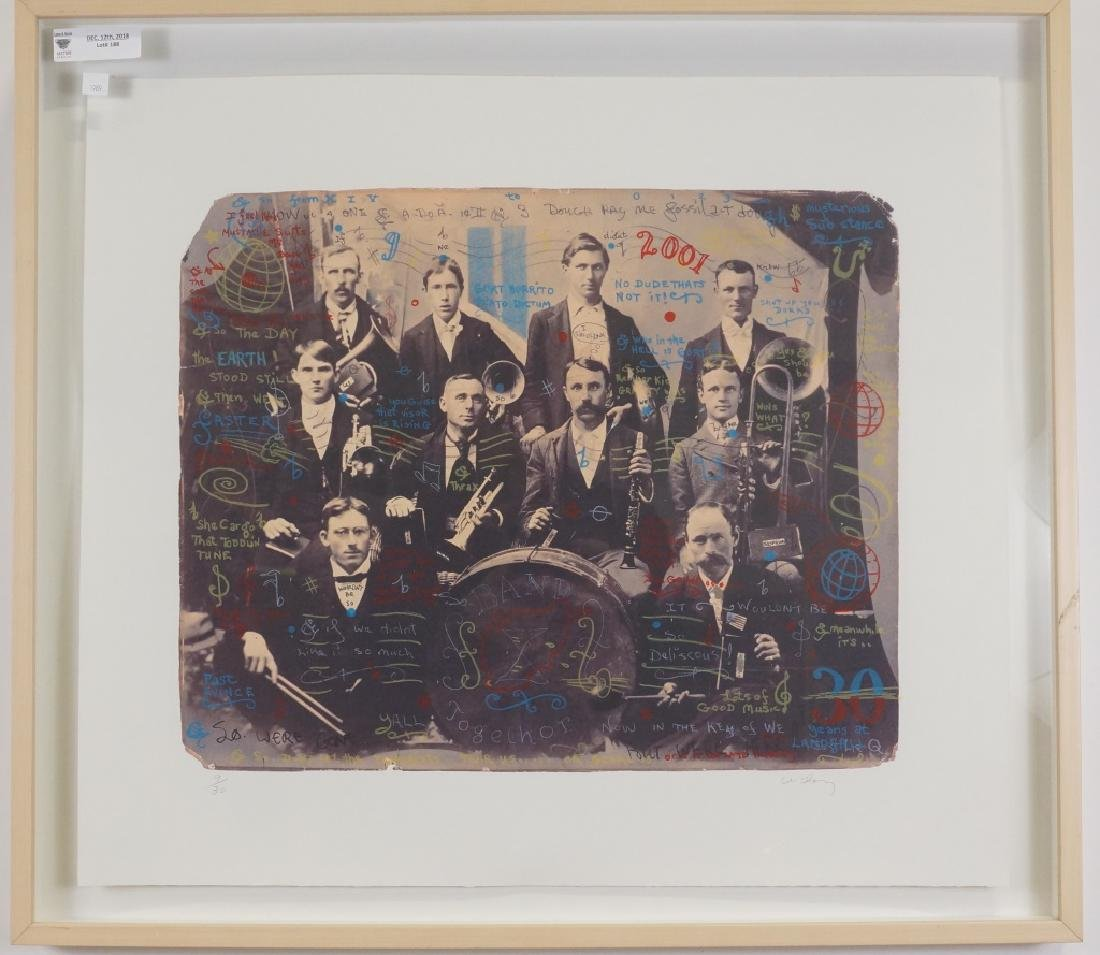 "WILLIAM T. WILEY ""BAND TOGETHER"" LITHO 2001"