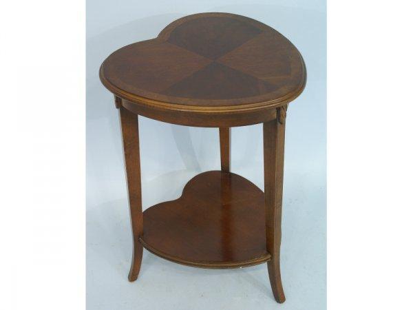 23: Heart-shaped side table