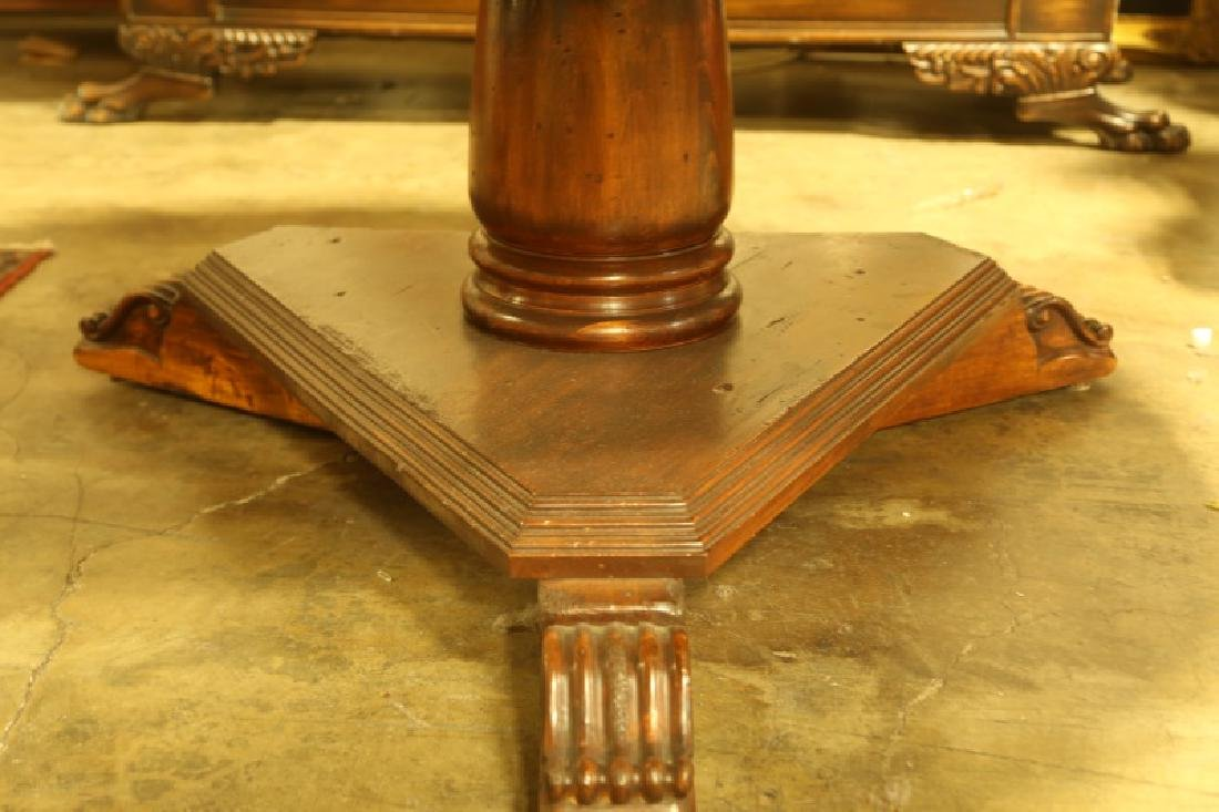 FRENCH STYLE PARQUET TOP DINING TABLE - 3