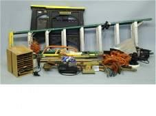 215 Boxlot of tools