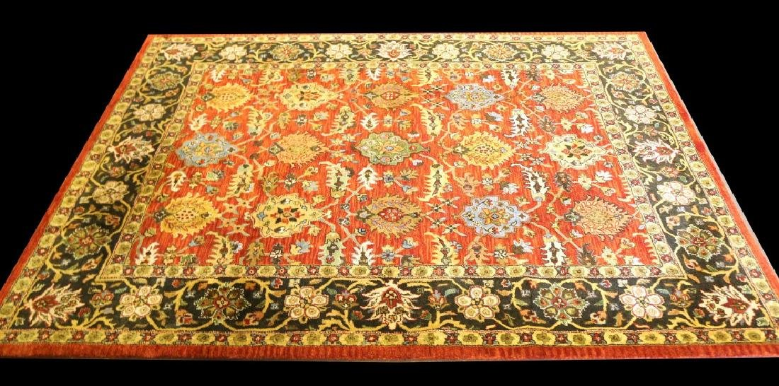 MACHINE WOVEN PERSIAN STYLE WOOL RUG