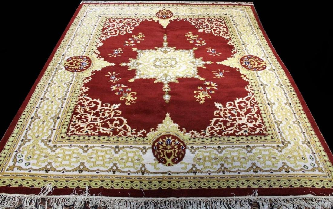 HAND KNOTTED ROMANIAN RUG