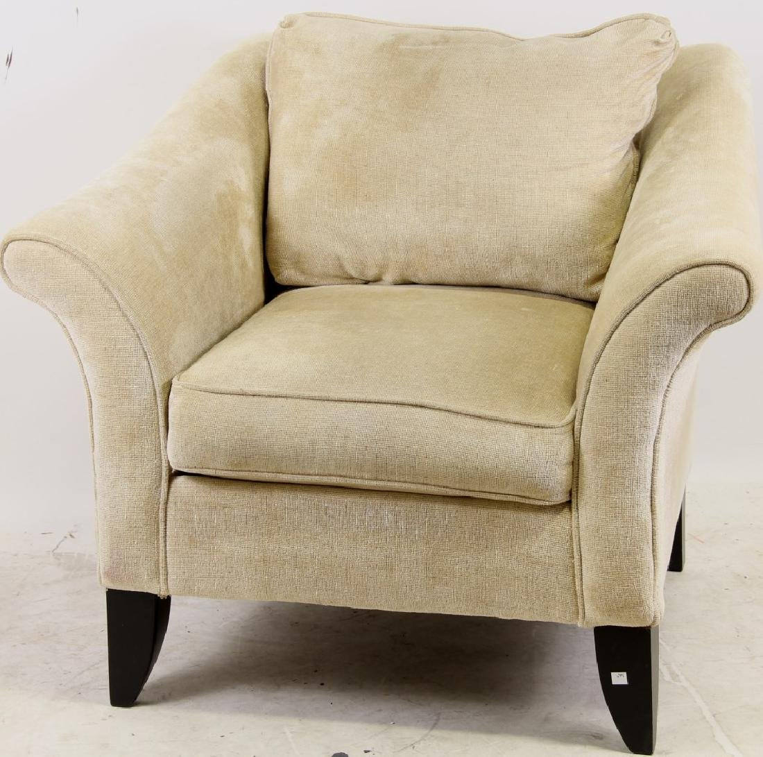 CONTEMPORARY UPHOLSTERED CLUB CHAIR - 2