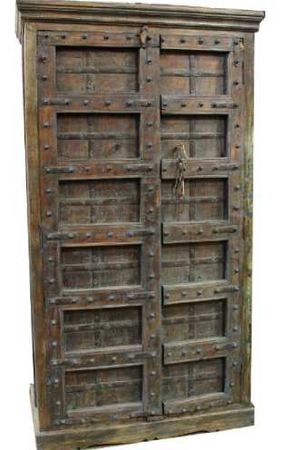 Antique Hamilton Economy 15 Drawer Map Cabinet