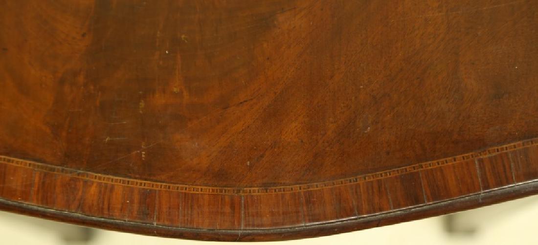 CIRCA 1840's MAHOGANY GEORGIAN PEMBROKE TABLE - 3