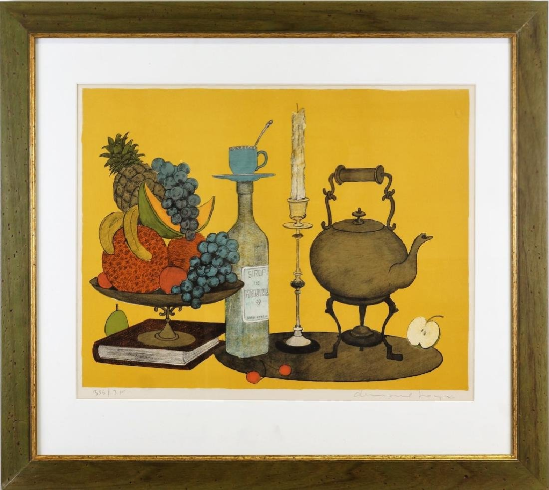 STILL LIFE SIGNED & NUMBERED PRINT, #356/3? - 2
